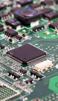 13087367-Laptop-motherboard-green-close-view-on-details-Stock-Photo-repair